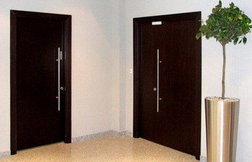 железные двери в тамбур эконом